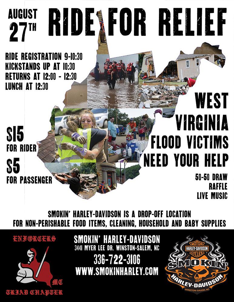 West Virginia Ride for Relief