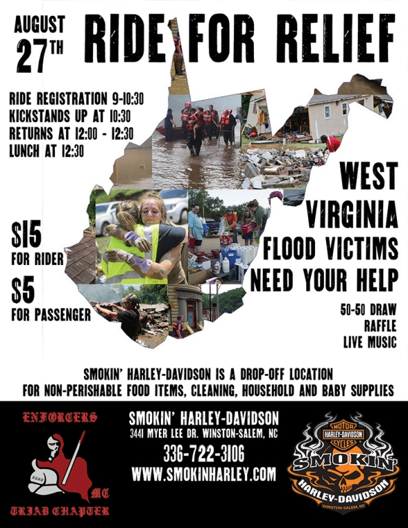 West Virginia Ride for Relief
