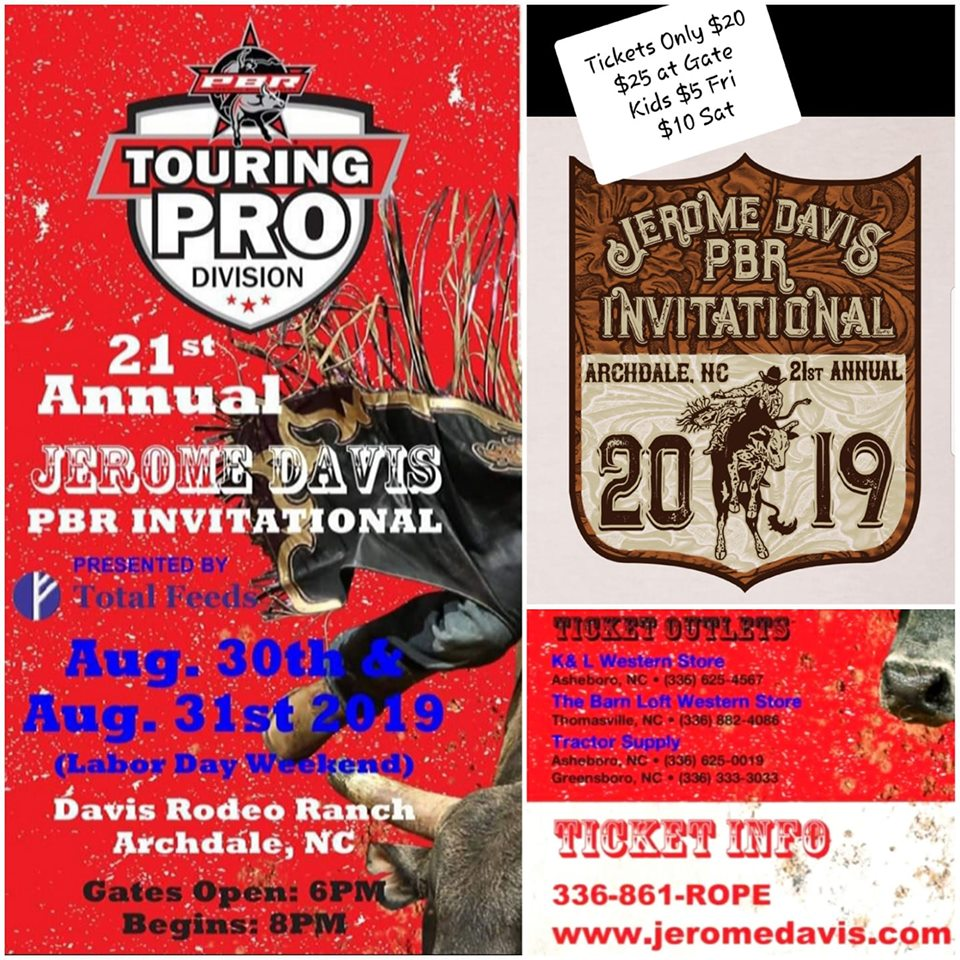 21st Annual Jerome Davis PBR Invitational